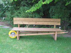 Originele tuinbank, euh kruiwagen euh kruibank... Wheelbarrow, Outdoor Furniture, Outdoor Decor, Park, Edinburgh, Craft Ideas, Google, Projects, Style
