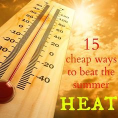 15 cheap ways to beat the summer heat Frugal Family, Summer Heat, Story Of My Life, Learn English, Family Life, Beats, Learning, Instagram, Truths