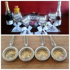 Bridal Party Gifts and Bridesmaids Night♥ South Hill Designs Lockets Gifts For Wedding Party, Bridal Gifts, Wedding Ideas, Party Gifts, Wedding Stuff, Locket Design, Jewelry Design, Locket Charms, Lockets