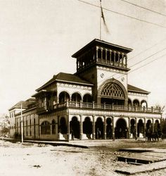 The Music Hall In Excelsior Springs Built Near To Elms Hotel 1880s