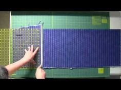 ▶ Marguerita is squaring Fabric! Marguerita is not the Quilting Police.   She is wonderful!!  Fabric Cutting for Quilt As You Go - YouTube