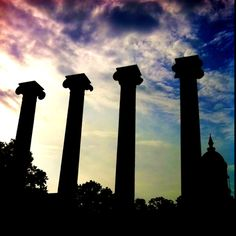 One of my favorite places! Columns at Mizzou