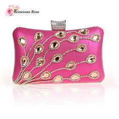 2016 New Luxury Women Mini Clutch Bags Purses Wedding Party Bags Ladies Shoulder Messenger Handbags bolsas feminina sac a main