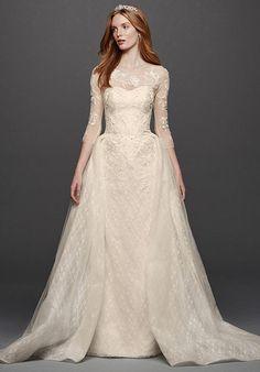 Oleg Cassini at David's Bridal Oleg Cassini Style CWG740 Wedding Dress photo