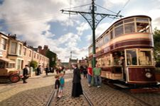 Beamish Museum - This award winning attraction in the Vale of Durham vividly recreates life in the North of England in the early 1800s and 1900s. Take a trip back in time aboard a real tram and meet some of the people who lived and worked in the past.
