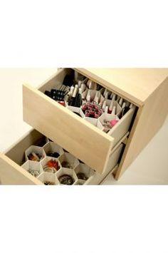 Hiper Çekmece Düzenleyici Shoe Rack, Vanity, Kitchen, Stuff To Buy, Home, Painted Makeup Vanity, Baking Center, Powder Room, Cooking