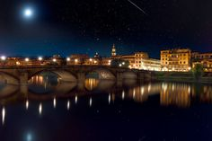 Starry Night in Florence by Michael Woloszynowicz