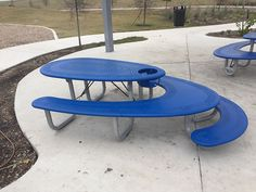 This Picnic Table Has Seating For Adults, A High Chair And A Kids Table All In One