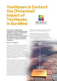 Youthpass in context the (potential) impact of youthpass in euromed juan ratto nielsen english, fren