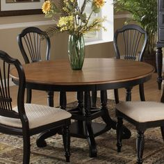 I pinned this Wilshire Round Dining Table in Black from the Mills & Montgomery event at Joss and Main!