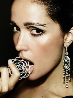 ROSE BYRNE for THE VIOLET FILES: The Calligraphy Eye