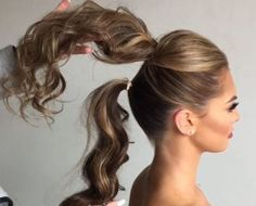 Thick Ponytail