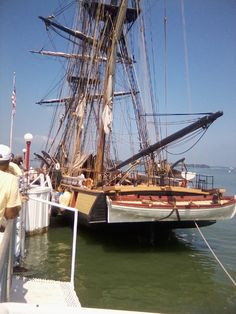 US Brig Niagara at Put-in-Bay. Available for dockside tours August 30 - September 1, 2013.