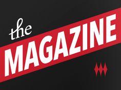 the magazine #logo #design #branding #identity #inspiration #brand #idea #modern #creative #simple #flat
