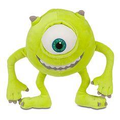 Mike Wazowski Plush Toy -- 7'' H