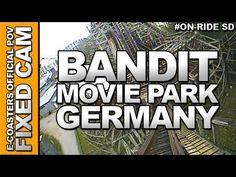 Vidéo embarquée du roller coaster Bandit situé dans le parc d'attraction Movie Park Germany en Allemagne. N'hésitez pas à venir découvrir sur notre channel Youtube, nos plus de 200 vidéos On-Ride : http://www.youtube.com/ecoasters !!