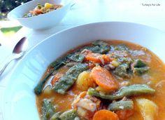 Ekşili Tavuk Çorbası - Turkish Sour Chicken Soup Recipe