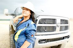Girls in the oil patch