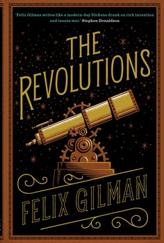Book Cover Hand Lettering for 'The Revolutions'. © Jim Tierney 2014