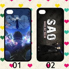 Hot cartoon anime Sword Art Online case for iphone 4 by carlos1118, $11.99 - SAO