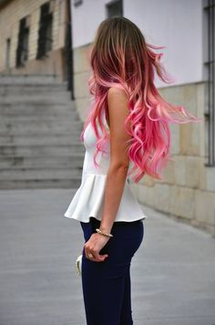 62 Best Ombre Hair Color Ideas for 2015 - 2016 - Styles Weekly Best Ombre Hair, Ombre Hair Color, Blonde Ombre, Ombre Style, Hair Colors, Hair Color Quiz, Blonde Ends, Blonde Color, Loose Curls Hairstyles