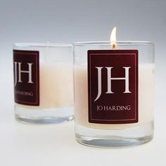 Our personalised candles make the perfect gift for your loved one or friend. These two luxury scented candles come in a tumbler measuring 75mm (width) x 90mm (Height) with around 60 hours burning time.     Your two candles can be personalised with your choice of initials and name making them a beautiful personalised present idea.     The initials come from the first letter of forename and first letter of surname.