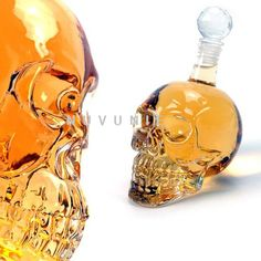 Item specifics      Glass Type: Beer Steins     Feature: ECO Friendly  Description   Product Name: 350ml Crystal Skull Head Vodka Shot Glass Beer Bottle Drink Ware Home Bar Party Y4011B Category: Glass   Short Description: 350ml Crystal Skull Head Vodka Shot Glass Beer Bottle Drink War...