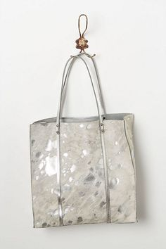 Silver Appaloosa Tote  #anthropologie