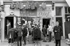 Shoppers at the Carnaby Street boutique I Was Lord Kitchener's Valet