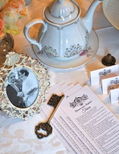... : Downton Abbey Tea Party + Free Printable Downton Abbey Trivia Quiz