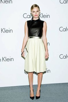 Simple does it, Kate Bosworth (Calvin Klein Collection)
