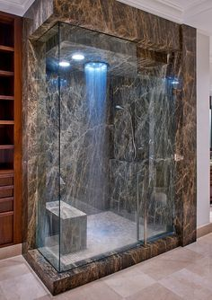 this is my dream shower Waterfall shower.this is my dream shower Dream Bathrooms, Beautiful Bathrooms, Luxury Bathrooms, Modern Bathrooms, Small Bathrooms, Douche Design, Waterfall Shower, Dream Shower, Bathroom Installation