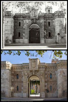 Monasterio de San Miguel de los Reyes. Entrada principal