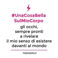 #UnaCosaBellaSulMioCorpo di Lara. #PasionariaIT #femminismo #feminism #bodylove #autostima