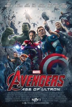 "Official Poster for ""Avengers: Age of Ultron"" - Imgur"