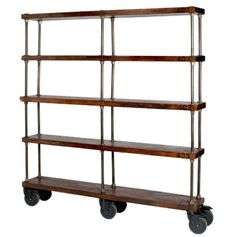 Industrial DIY shelving