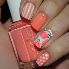Floral nails  @ sasha2750