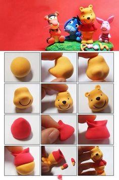 Pooh bear DIY