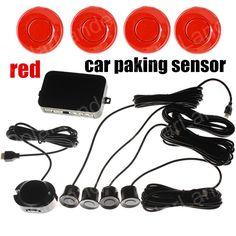 Car Parking Sensor Radar with 4 Sensors Car Parking Sensor With sound colorful sensors 9 colors available best selling #Affiliate