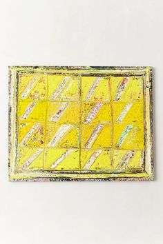 Sun Shower Painting - anthropologie.com This would be a cool quilted wall hanging.