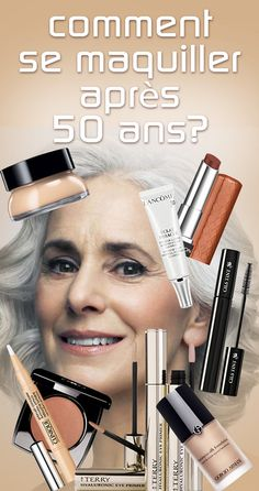 Varnish trend: How to wear makeup after 50 years? do not neglect make-up because you How To Wear Makeup, How To Apply Makeup, Diy Makeup, Makeup Tips, Beauty Makeup, Hair Beauty, Eyeliner, Eyeshadow, Beauty Secrets