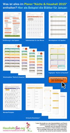 Ideal Hilfreiche Checklisten f r deinen Haushalt