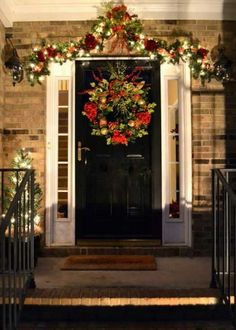 Christmas Porch Decorating Ideas for 2012