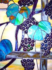 Detail of Tiffany window at the Met @Suzy W