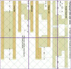 3-D del pantógrafo planea vista previa