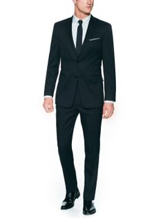 Pindot Wool Suit by Tommy Hilfiger Suiting at Gilt
