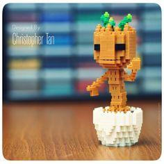 nanoblock Baby Groot
