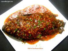 Fish in Szechuan Sauce