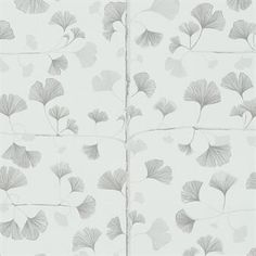 Create a lush and vibrant feeling in your home with this Ginkgo wallpaper from Sandberg Tyg