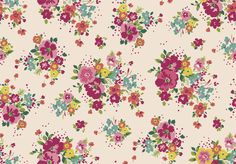 Seamless and Elegant Floral Print for textile #Floral